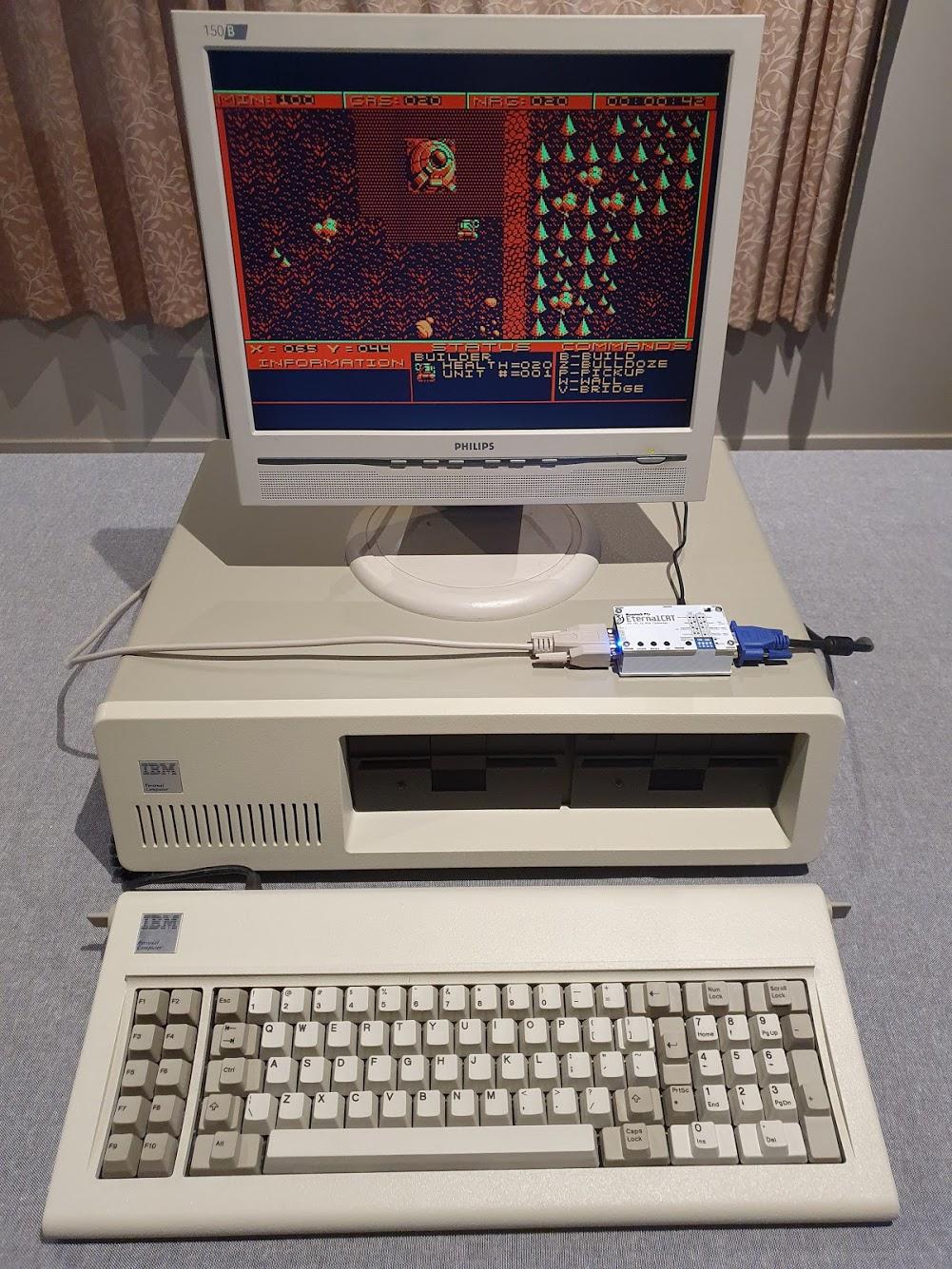 EternalCRT - MDA/CGA/EGA to VGA Converter Box