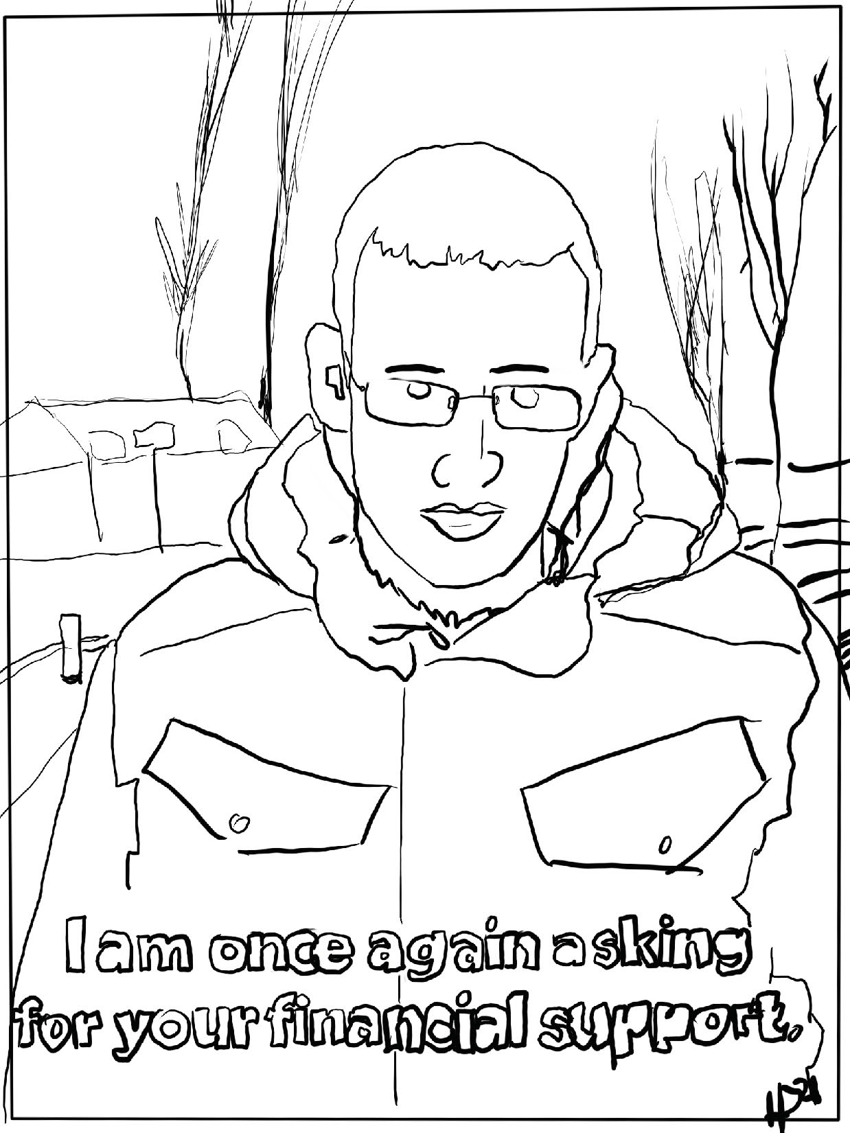 **** LIMITED EDITION **** From Meme to White House Coloring Book SIGNED BY SPIKE
