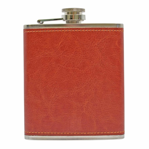 Leather & Wood Flasks