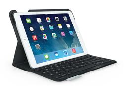 Bàn phím cho Ipad Air: Bàn phím bluetooth Logitech kiêm Smart cover siêu mỏng