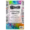 Dylusions Colouring Sheets