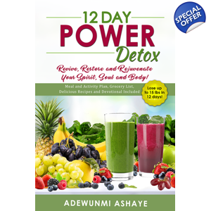12 DAY POWER DETOX BOOK