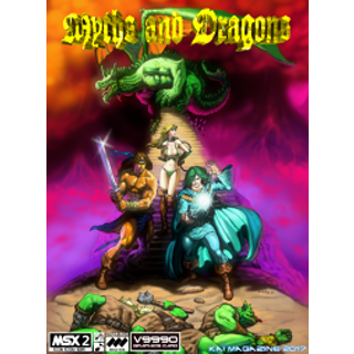 Myths and Dragons V9990 chip requiered..