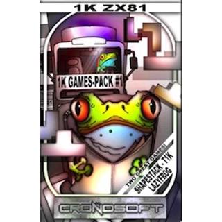 1K GAMES Shapestack+Lazy Frog Sinclair..