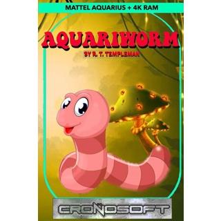 AQUARIWORM - Mattel Aquarius cassette ..