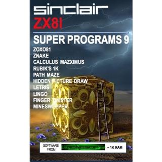 SUPER PROGRAMS 9 - 1K Z..