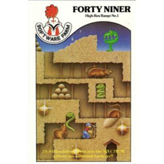FORTY NINER - ZX81 CASSETTE