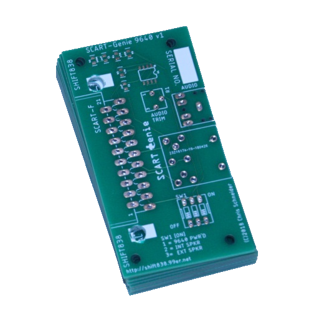 SCART-Genie 9640 V1 PCB only