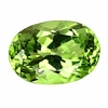 Faceted Peridote