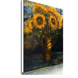 Vase avec des Tournesols