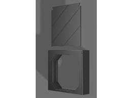 BLASTER DOOR DELUXE W/ DOOR PANEL
