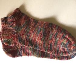 Forest Floor Multi Print Ankle Sock