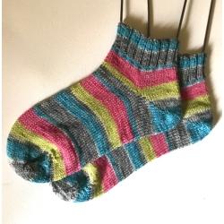 Girly Stripe Sock