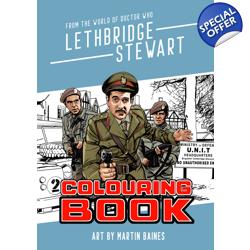 The Lethbridge-Stewart Colouring Book
