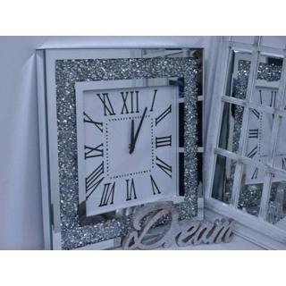 Diamanté wall clock