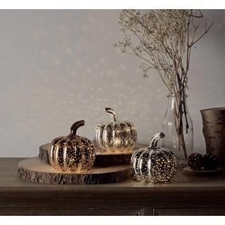 Set of 3 LED pumpkins