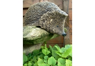 Nosy Hedgehog - Handmade in stoneware ..